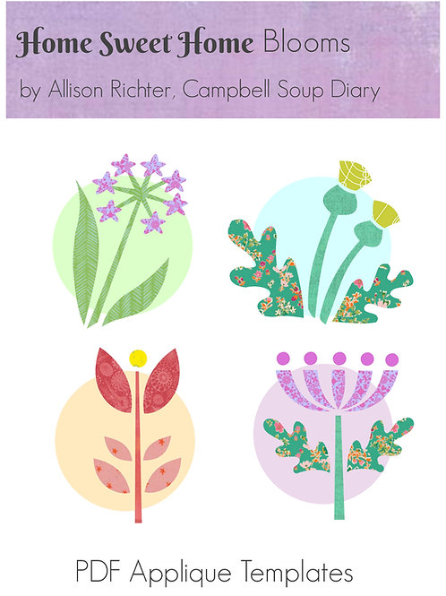 Home Sweet Home Blooms PDF Templates