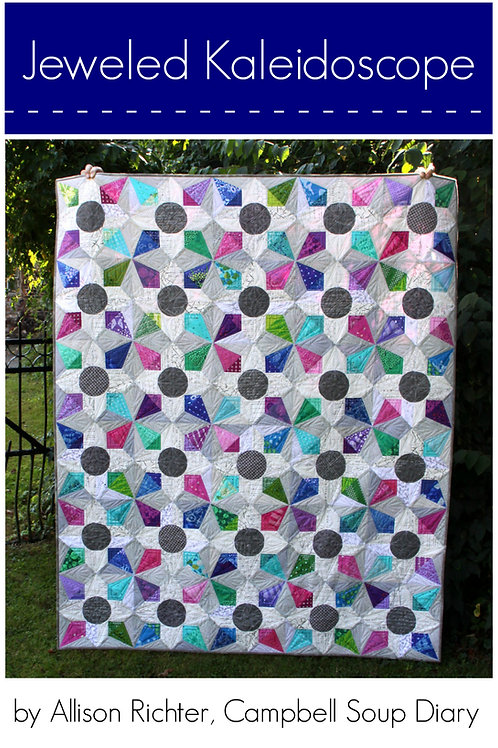 Jeweled Kaleidoscope PDF Pattern