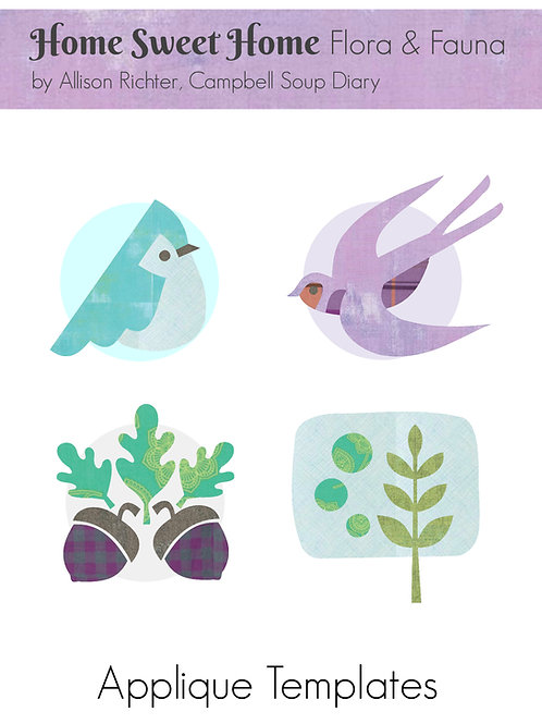 Home Sweet Home Flora & Fauna PDF Templates