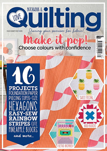 Love Patchwork and Quilting magazine iss