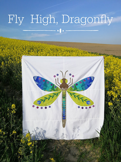 Fly High, Dragonfly PDF Pattern