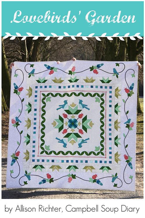Lovebirds' Garden PDF Pattern