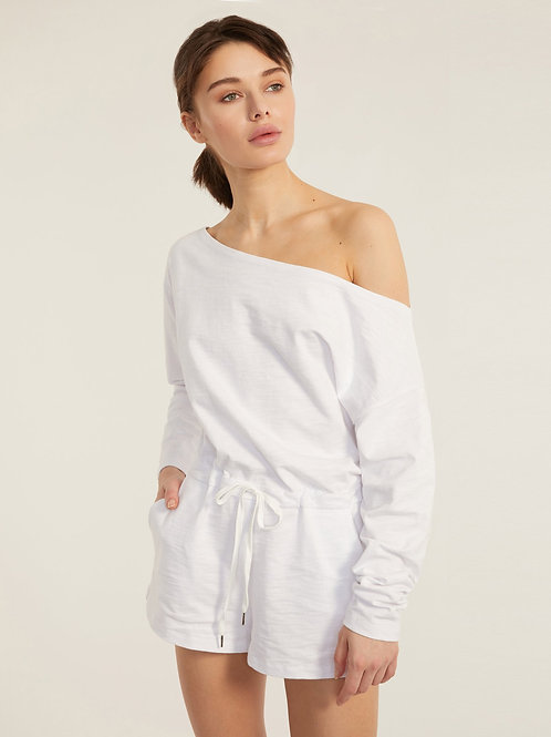 Marissa Webb | Marlo Drop Shoulder Romper