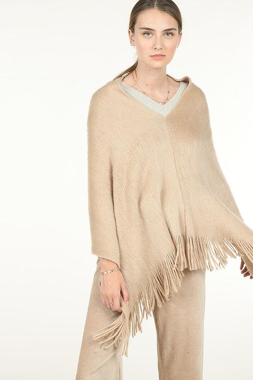 Molly Bracken | Fringe Pullover Poncho