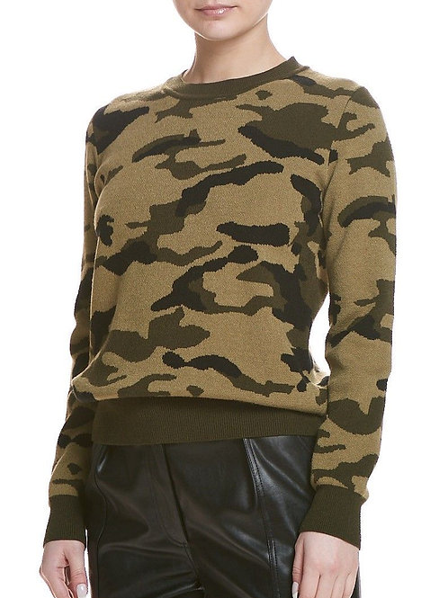 Sen | Nero Camo Sweater