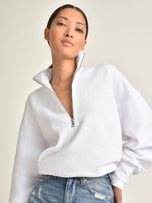 Marissa Webb   So Relaxed Zip Front Sweatshirt
