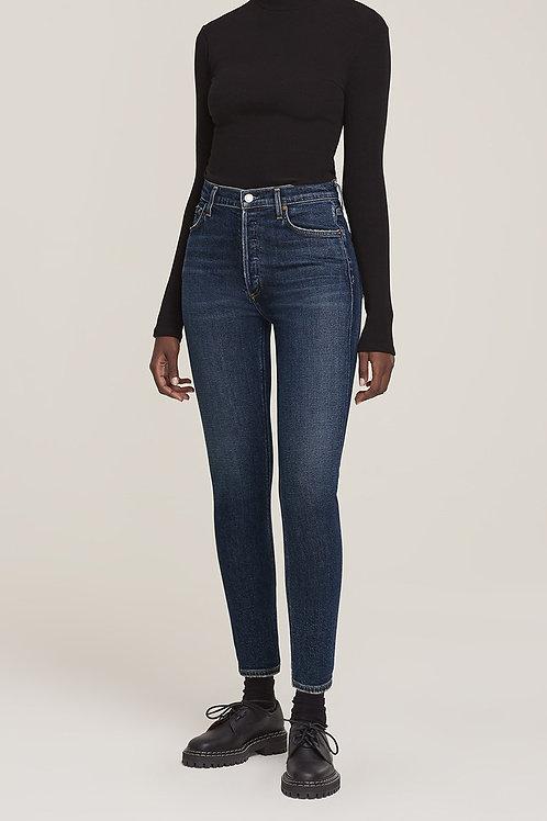 AGOLDE | Nico High Rise Slim Fit Jean