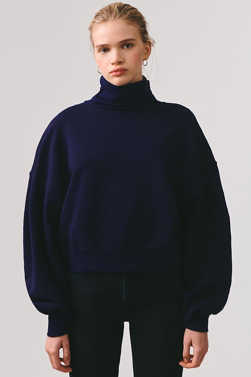 AGOLDE | Balloon Sleeve Turtleneck Sweatshirt