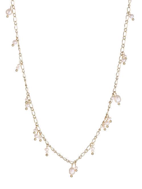 Luv AJ | Pearl Drop Charm Necklace