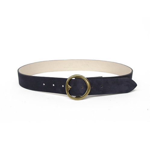 B-Low the Belt | Baby Bell Bottom Suede Belt