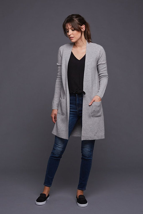 Pine Cashmere | Morgan Long Cardigan