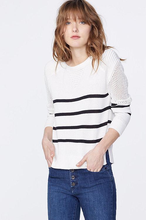 IKKS | Stripe Crewneck Sweater