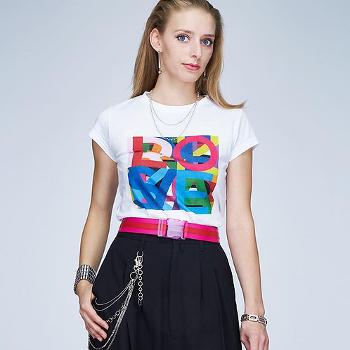 Suzi Roher | Karlie Electric Love T-Shirt