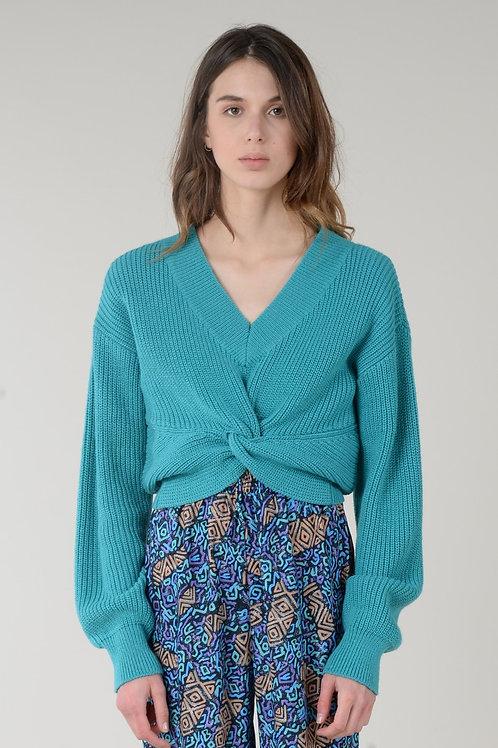 Molly Bracken   Twist Front Sweater