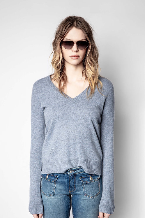 Zadig & Voltaire | Vivi Patch Cashmere Sweater