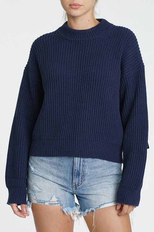 Pistola | Taylor Sleeve Tab Sweater