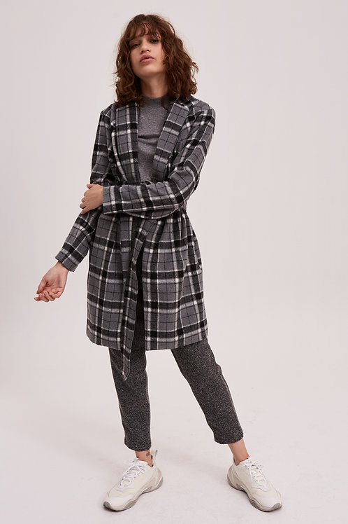 The Fifth Label | Treble Check Coat
