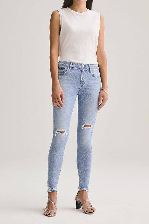 AGOLDE | Sophie Mid Rise Skinny Jean