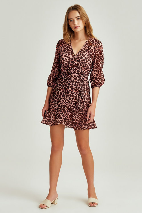 The Fifth Label | Leopard L/S Dress