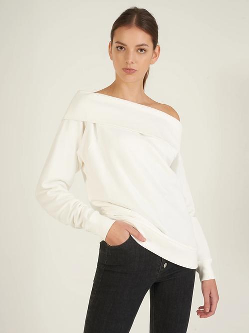 Marissa Webb | So Relaxed Off Shoulder Sweatshirt