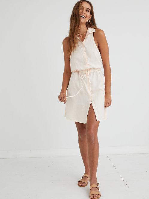 Bella Dahl   Swing Hem Sleeveless Dress