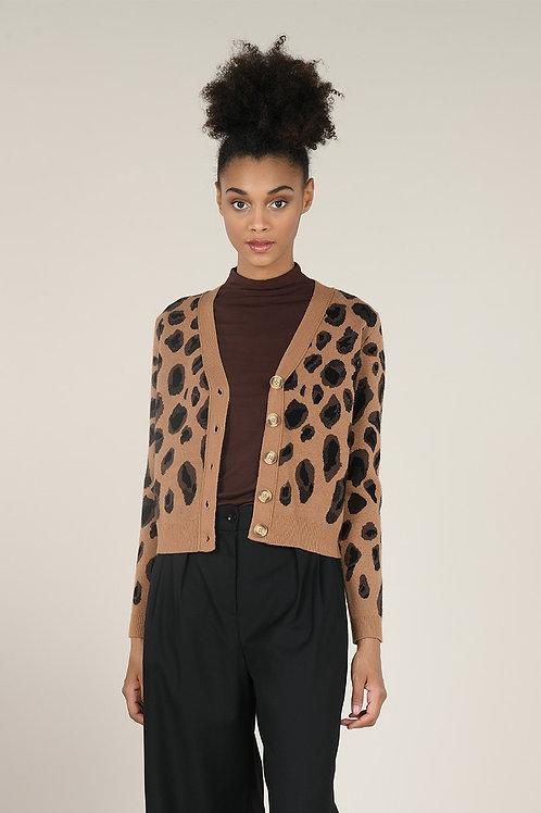 Molly Bracken | Leopard Print Cardigan