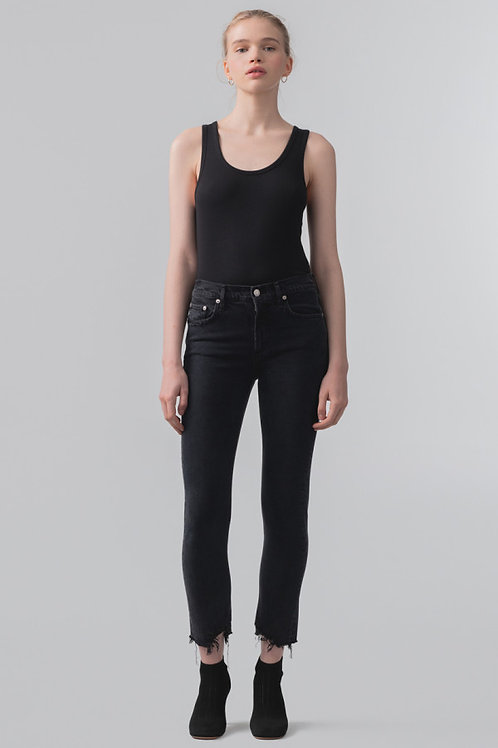 AGOLDE | Toni Mid Rise Slim Jean