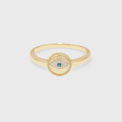 Gorjana | Evil Eye Coin Ring
