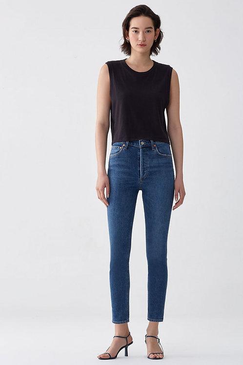 AGOLDE   Nico Hi Rise Slim Jean