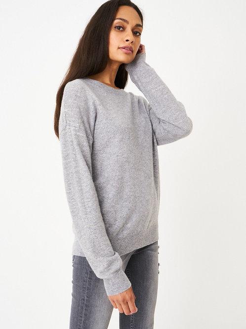 Repeat Cashmere | Cashmere Glitter Pullover Sweater