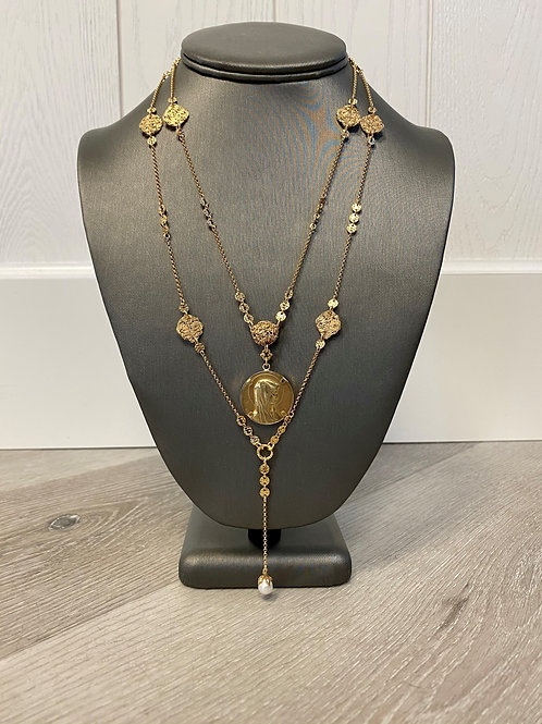 Vahe Twisted | St. Mary's Double Necklace