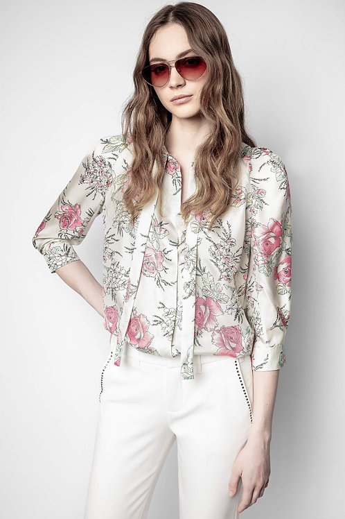 Zadig & Voltaire | Touch Twill Roses Tunic
