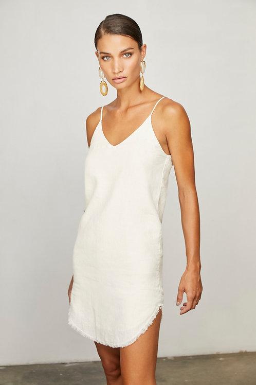 Krisa   Frayed Hem Mini Dress