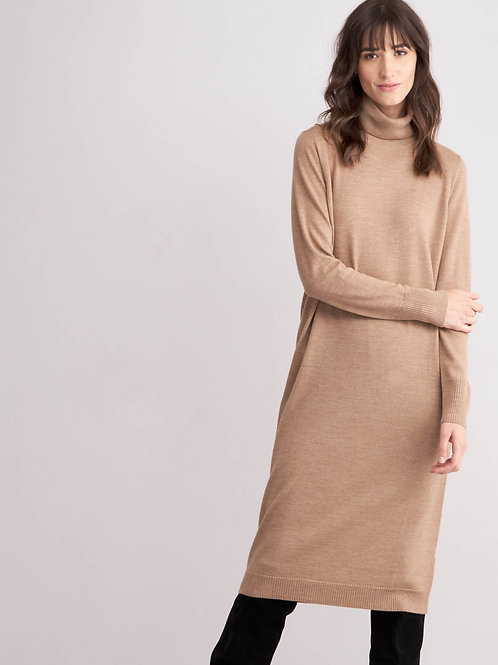 Repeat Cashmere | Merino T-Neck Dress