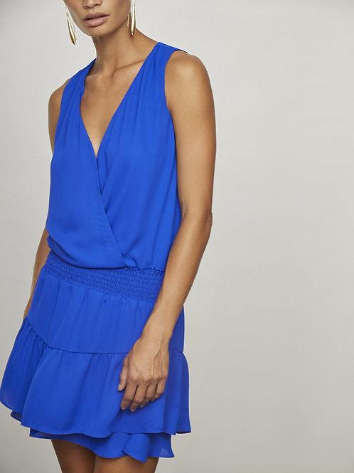Krisa   Sleeveless Surplice Dress