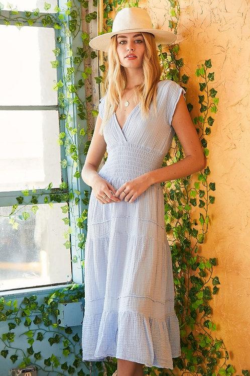 Felicite   Smocked Midi Dress