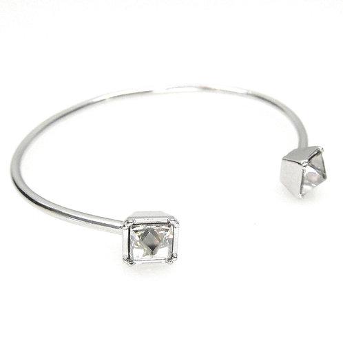 Jessica Elliot | Swarovski Pyramid Wire Bracelet