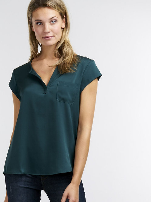 Repeat Cashmere | Silk Pocket Tee