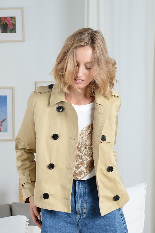 Molly Bracken | Short Trench Coat