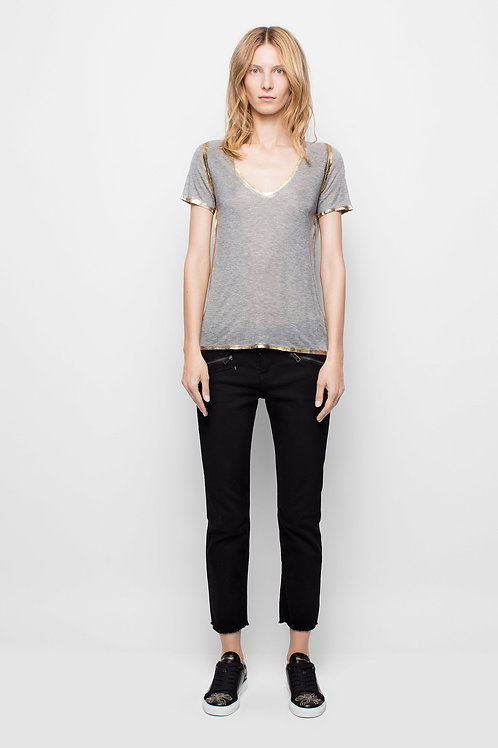 Zadig & Voltaire | Tino Gold Foil T-Shirt