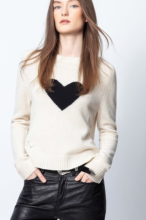 Zadig & Voltaire | Lili Heart Sweater