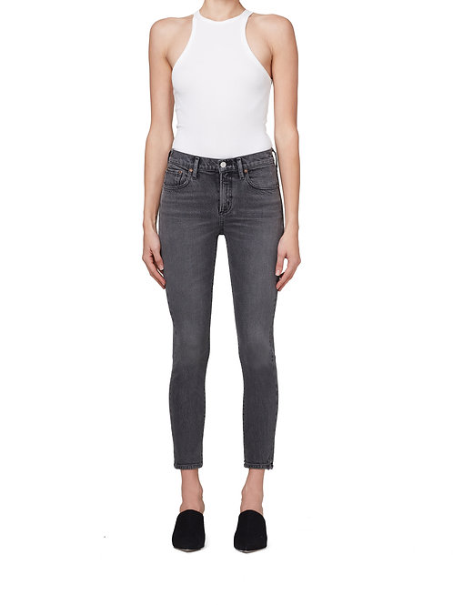 AGOLDE | Toni Mid Rise Straight Jean