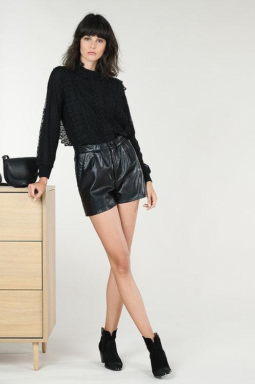Molly Bracken | Faux Leather Short