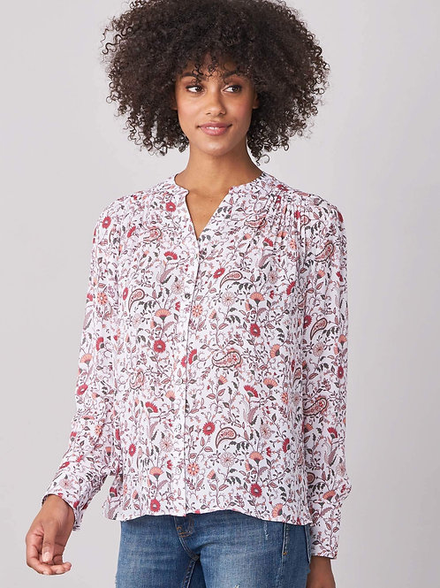Repeat Cashmere | Silk Paisley Blouse