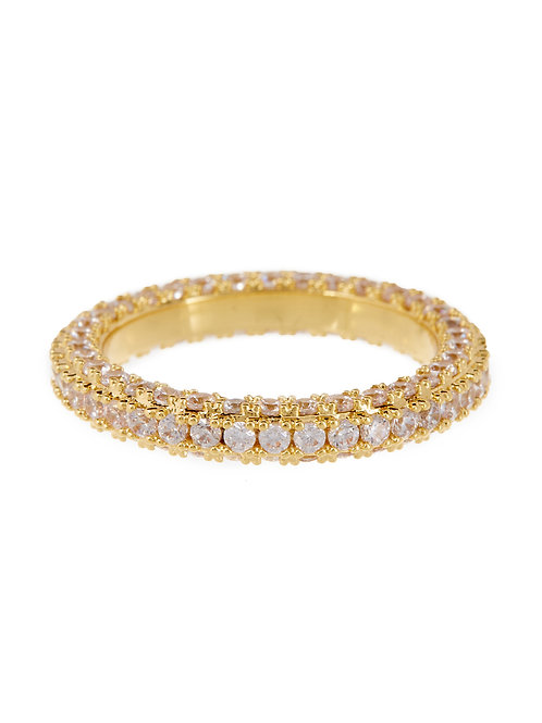 Luv AJ | Pave Triple Band Ring