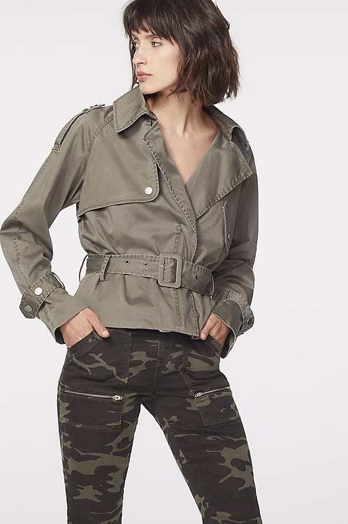IKKS | Cropped Trench Coat