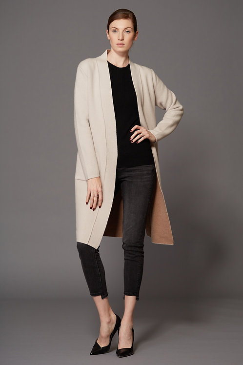 SWTR | Double Sided Duster Cardigan Coat