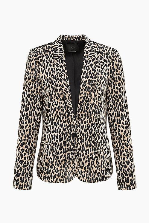 IKKS   Leopard Print Blazer