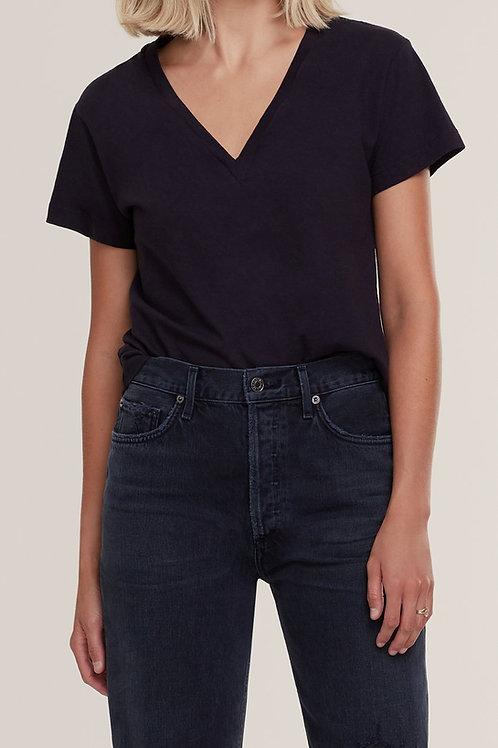 AGOLDE | Thea V Neck T-Shirt