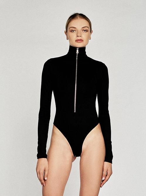 Marissa Webb | Zip Front Bodysuit